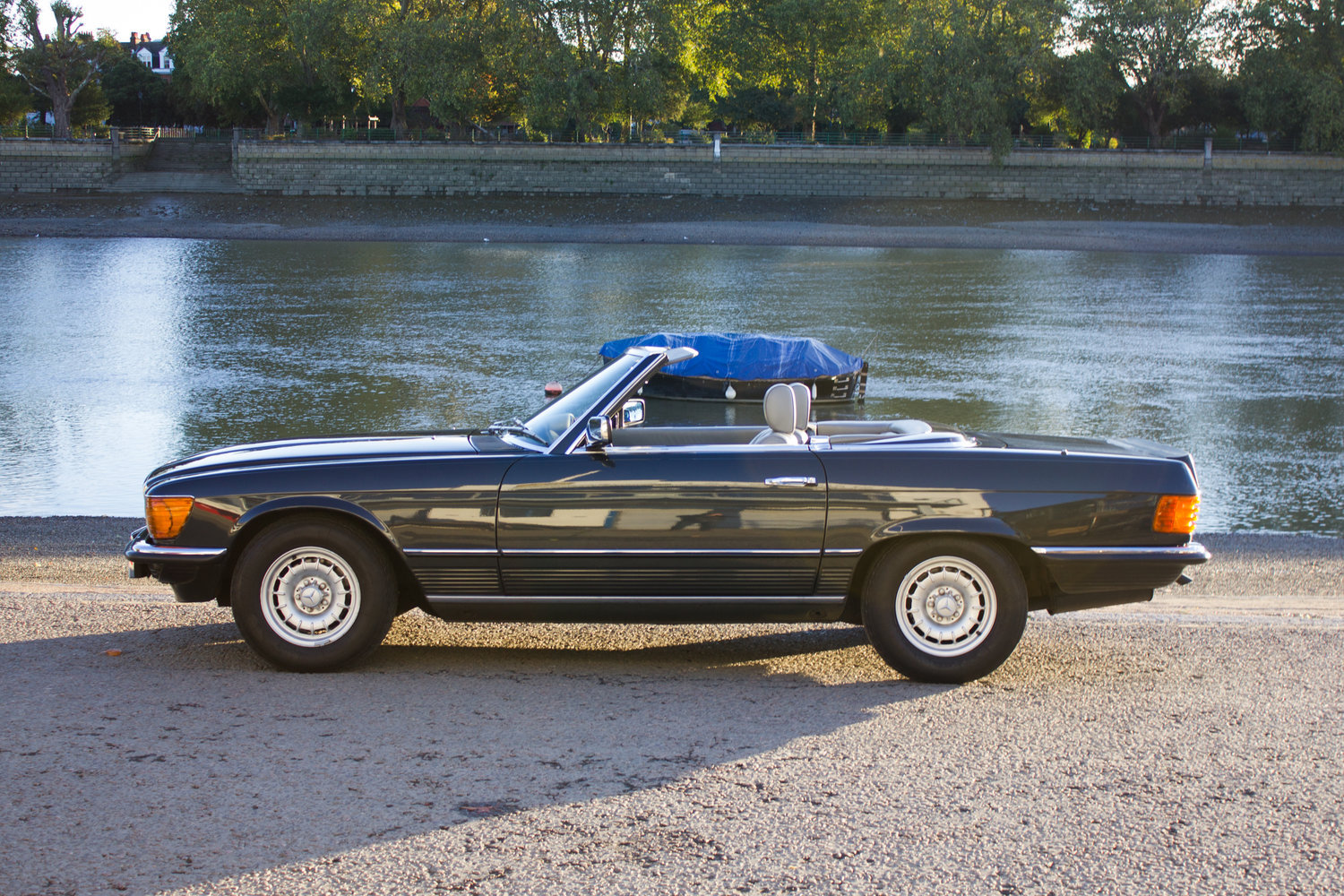 1985 Mercedes-Benz 500SL - LHD, AC, Heated Seats, 43k Miles For Sale (picture 2 of 6)