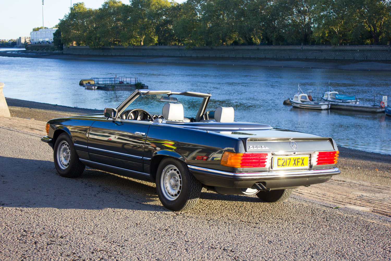 1985 Mercedes-Benz 500SL - LHD, AC, Heated Seats, 43k Miles For Sale (picture 3 of 6)