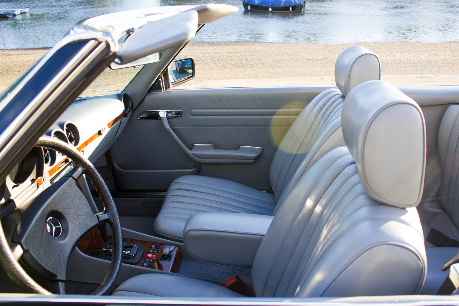 1985 Mercedes-Benz 500SL - LHD, AC, Heated Seats, 43k Miles For Sale (picture 4 of 6)