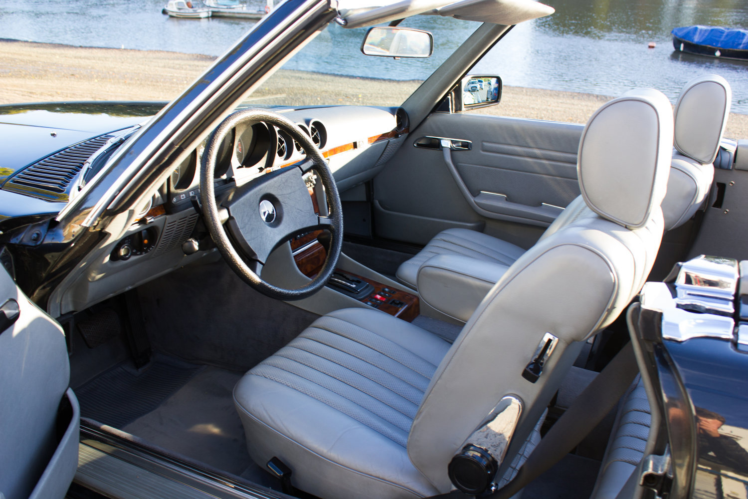 1985 Mercedes-Benz 500SL - LHD, AC, Heated Seats, 43k Miles For Sale (picture 6 of 6)