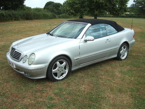 2001 Mercedes W208 series CLK320 Avantgarde Cabriolet For Sale