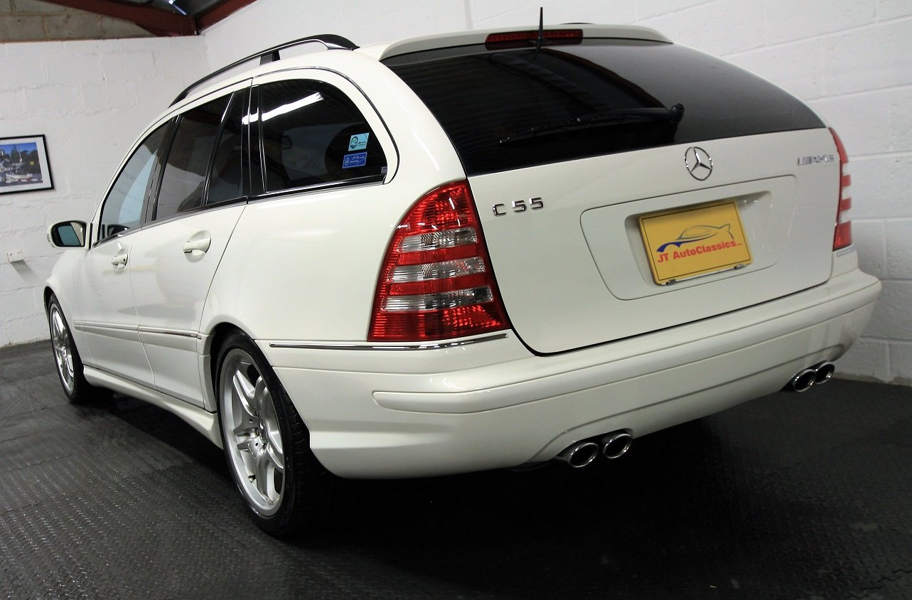 2005 Mercedes C55 AMG Estate,37,453 miles For Sale (picture 3 of 6)