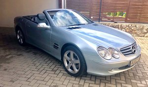 2002 Mercedes SL500 81k miles 2 owner car FSH For Sale