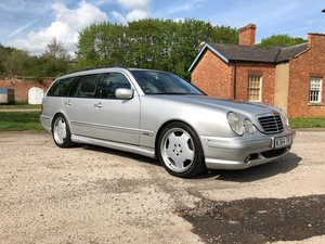 2000 Mercedes E55 AMG Estate 94k miles 1 owner from new For Sale
