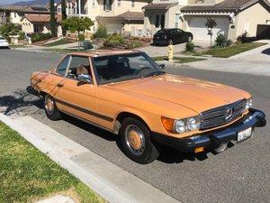 1975 Mercedes 450SL Convertible Rare Color 165k miles $10.5k