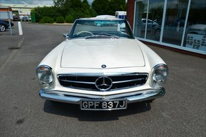 1970 Mercedes 280SL Pagoda RHD  For Sale