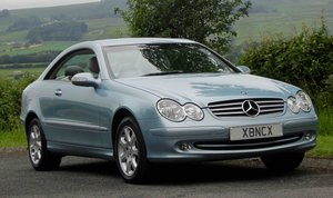 2004 SUPERB CLK320 ELEGANCE, FSH, 29K MILES!!!! For Sale