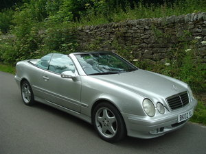 2002 02/02 Mercedes CLk 320 (W208) Avantgarde Convertible For Sale