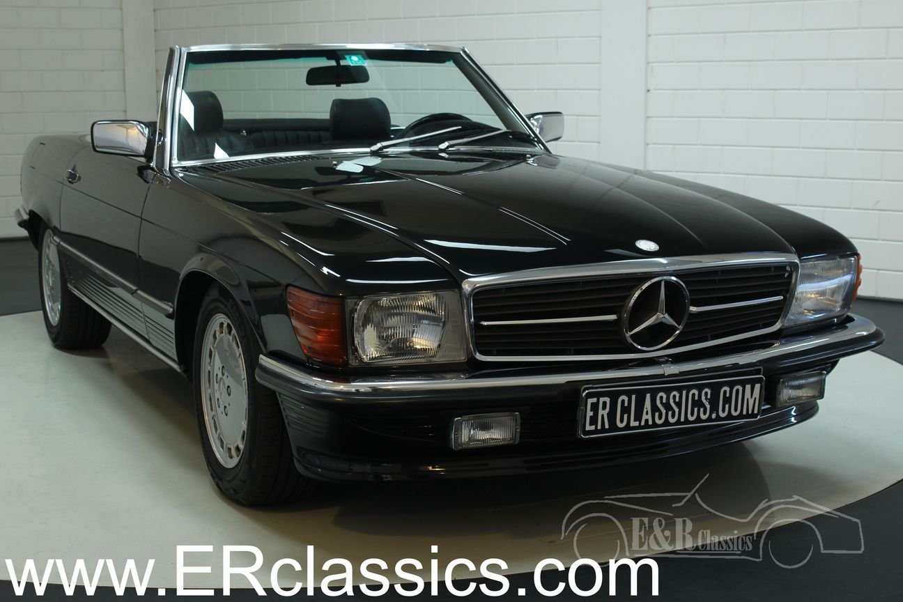 Mercedes Benz 300SL cabriolet 1987 very good condition For Sale (picture 1 of 6)