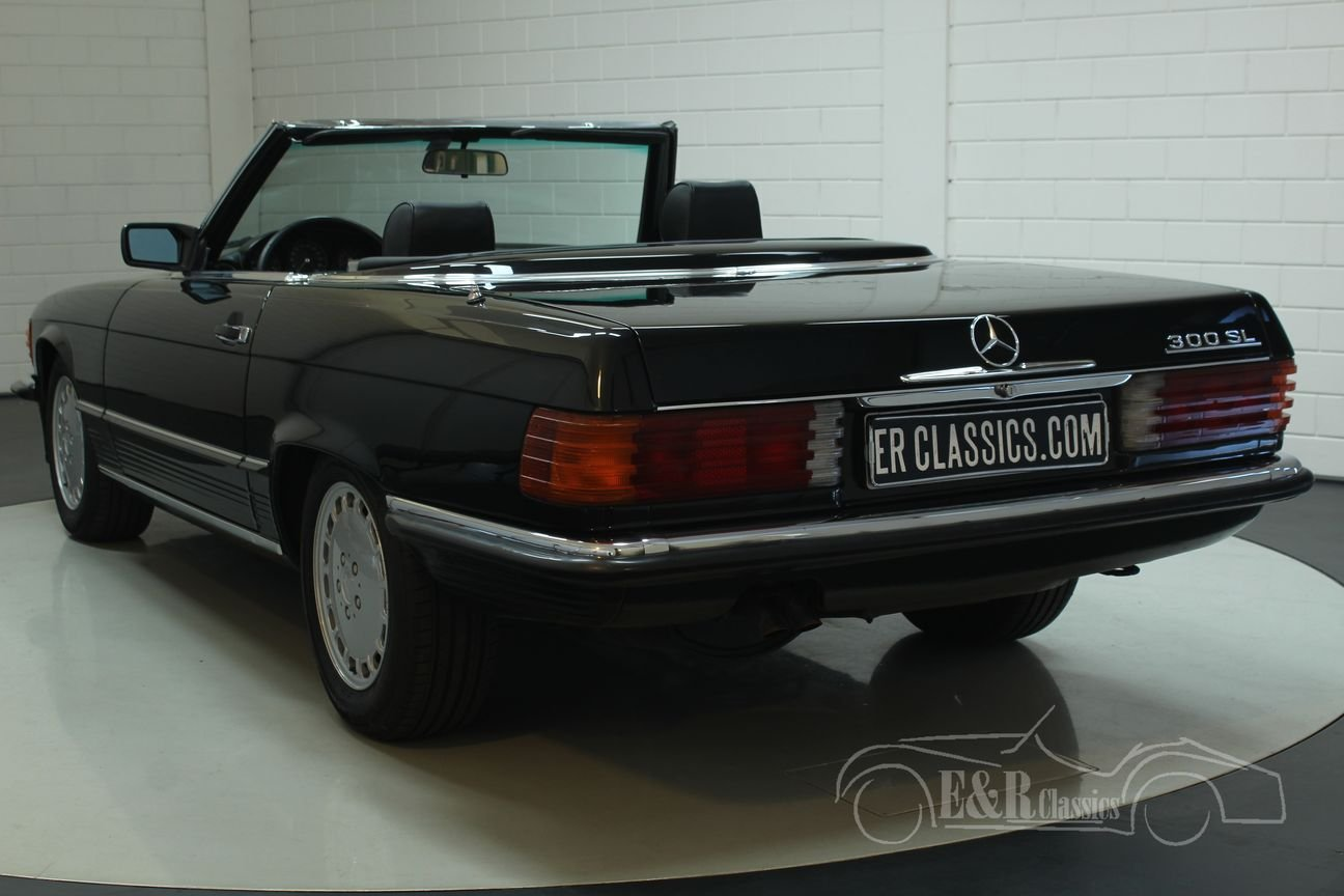 Mercedes Benz 300SL cabriolet 1987 very good condition For Sale (picture 5 of 6)