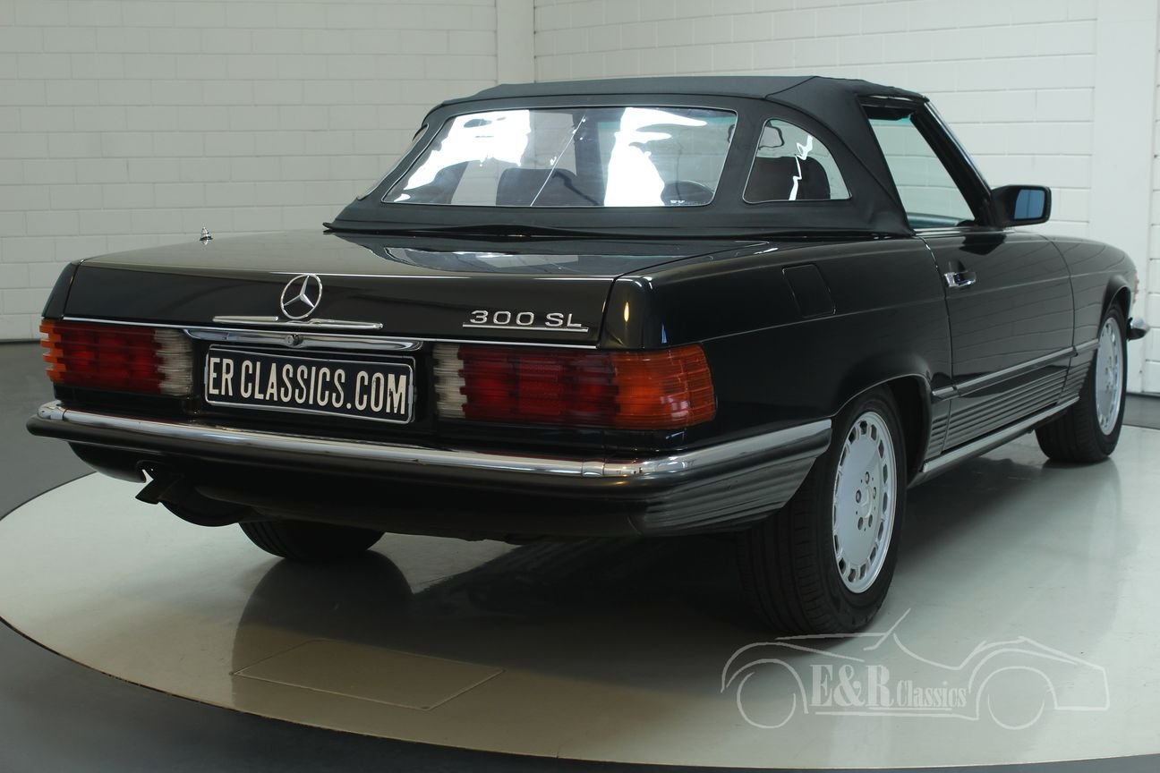 Mercedes Benz 300SL cabriolet 1987 very good condition For Sale (picture 6 of 6)