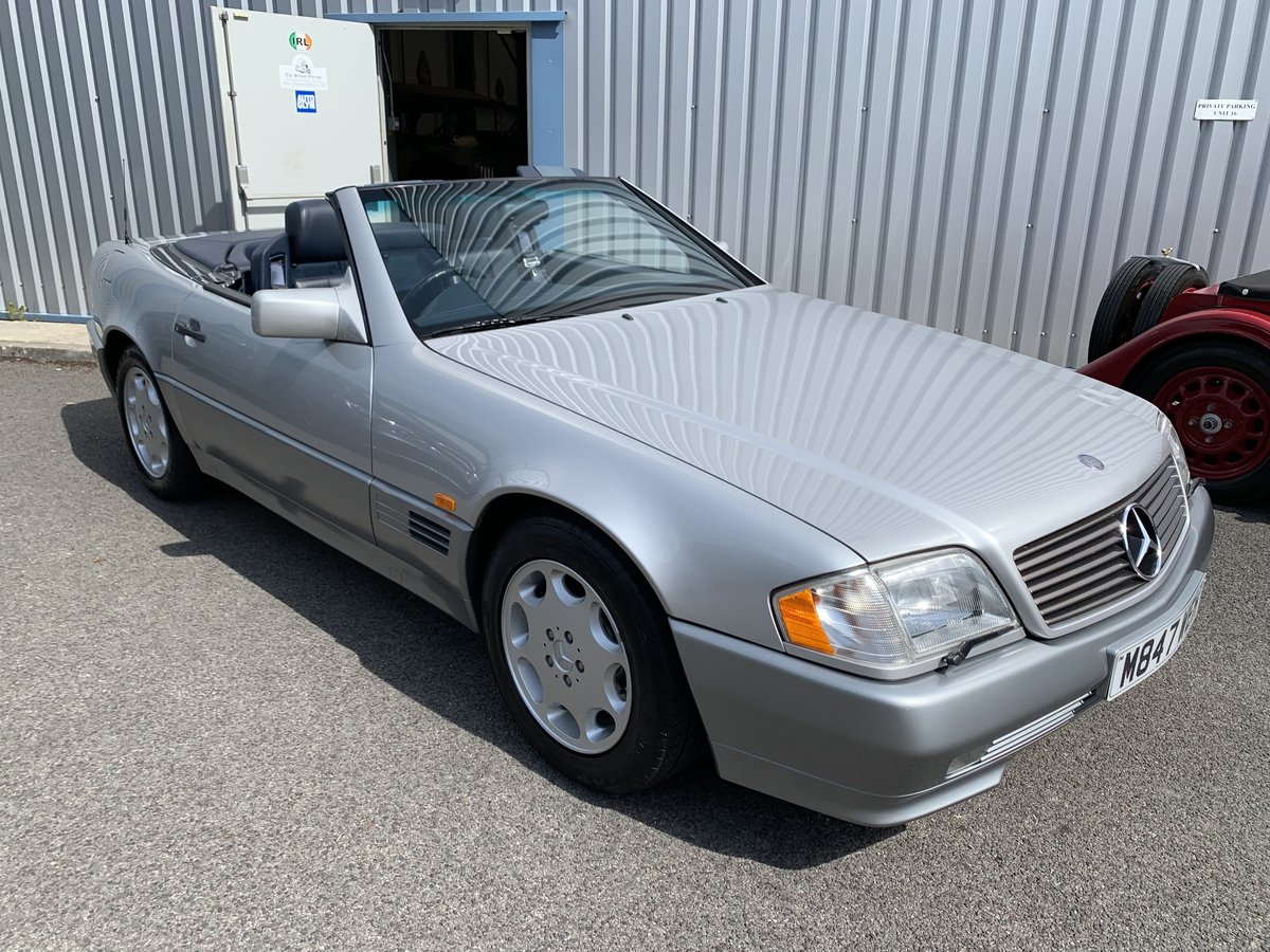 1995 MERCEDES BENZ SL500 W129 Sports For Sale (picture 4 of 6)