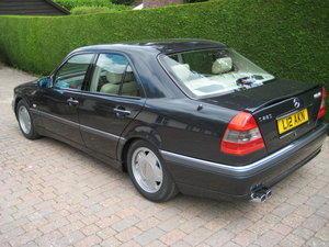 1995 Rare low mileage Mercedes C280 Carat Duchatelet For Sale