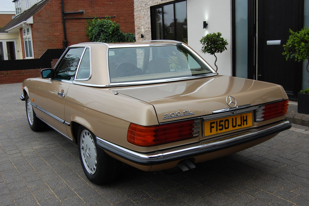 1989 2 OWNERS 300SL 58000 MILES £34950 For Sale (picture 4 of 6)