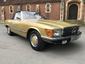 Mercedes 350SL,Genuine 35000 Miles, For Sale