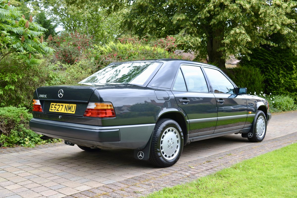 1988 Mercedes 260E W124 *60k, High Spec, Leather, FSH* SOLD (picture 3 of 6)