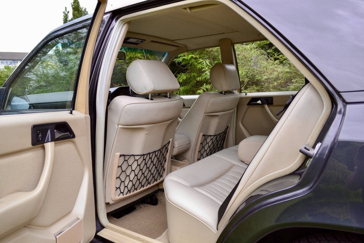 1988 Mercedes 260E W124 *60k, High Spec, Leather, FSH* SOLD (picture 5 of 6)