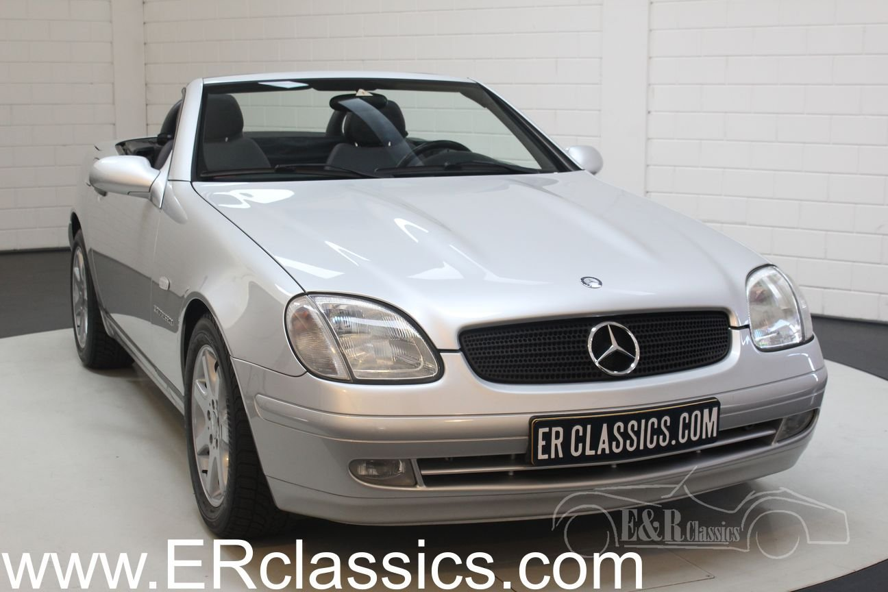 Mercedes-Benz SLK230 2000 62,932 km Top condition For Sale (picture 1 of 6)