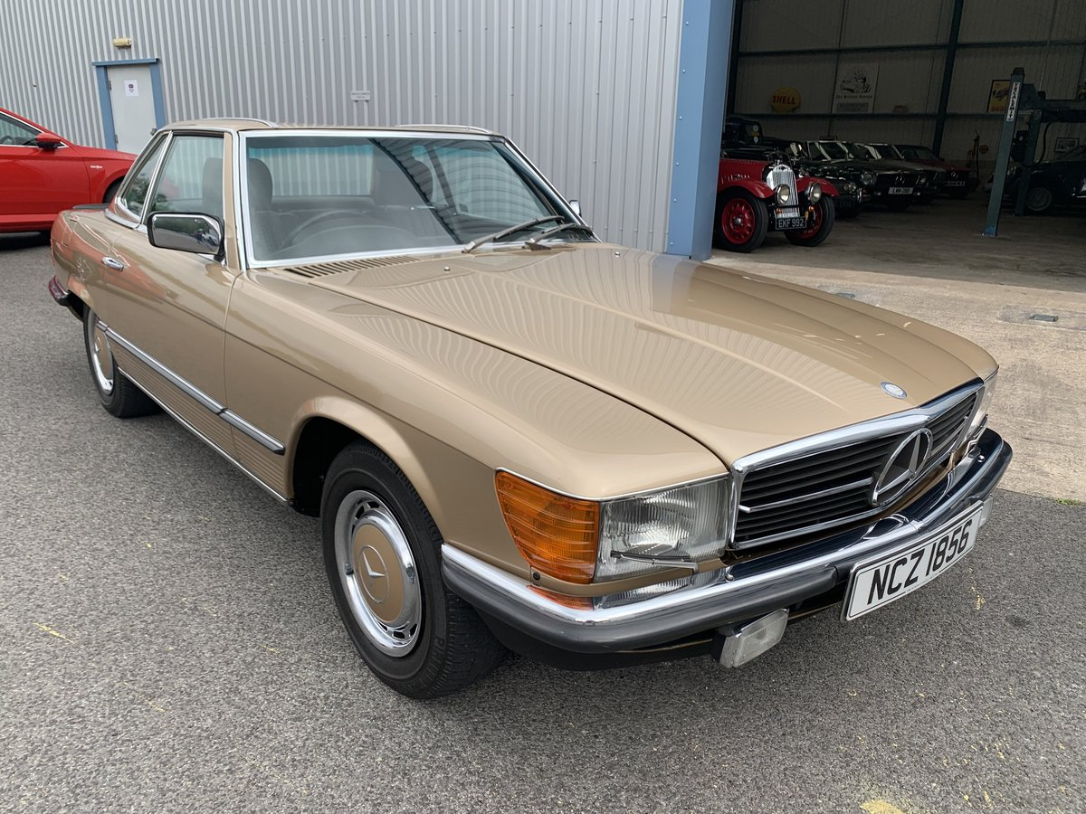 1985 MERCEDES BENZ 280SL W107 For Sale (picture 1 of 6)