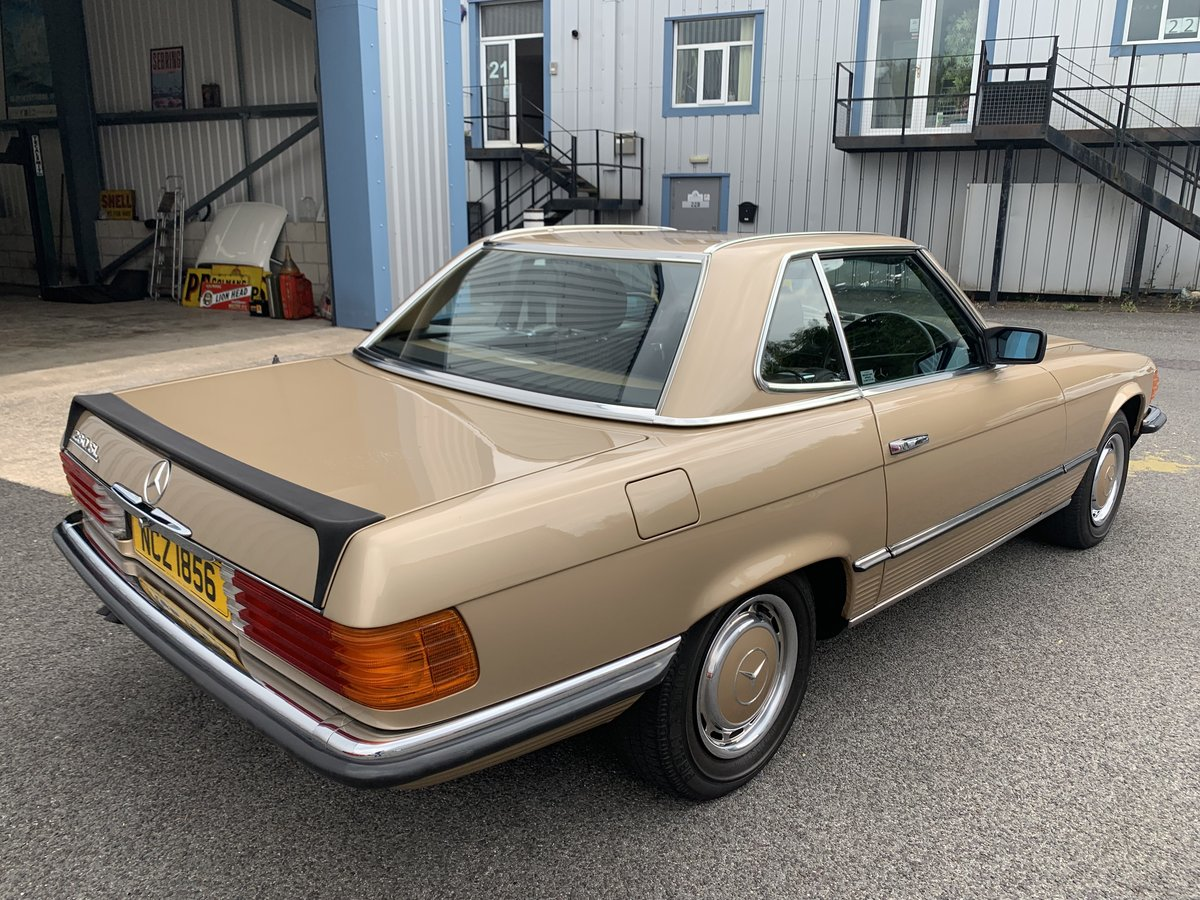 1985 MERCEDES BENZ 280SL W107 For Sale (picture 2 of 6)