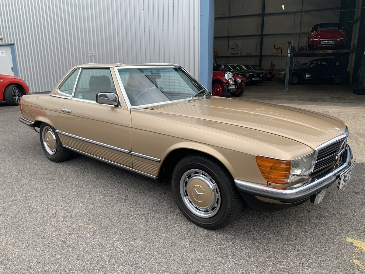1985 MERCEDES BENZ 280SL W107 For Sale (picture 3 of 6)