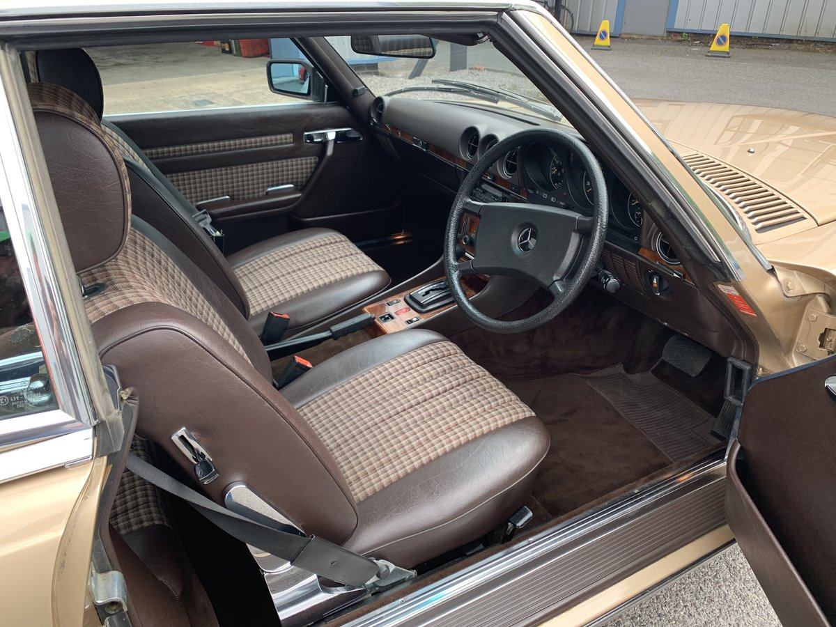 1985 MERCEDES BENZ 280SL W107 For Sale (picture 6 of 6)