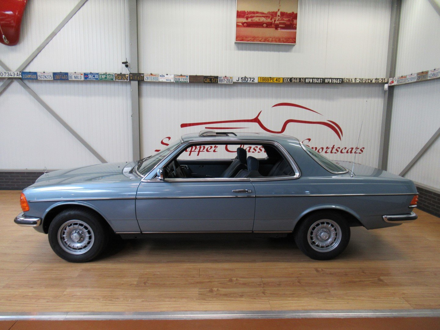 1977 Mercedes 280CE W123 Coupé For Sale (picture 2 of 6)