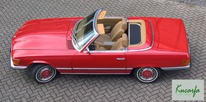1972 Mercedes 350 SL (European car; 112.000 km; top condition)