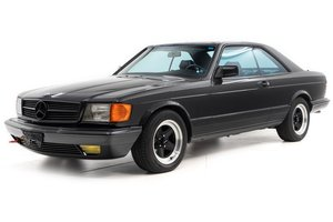 1985 Mercedes 500 SEC Sedan = low 60k miles Black $37.5k For Sale