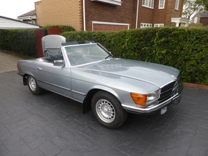 1980 Mercedes benz 350sl v8