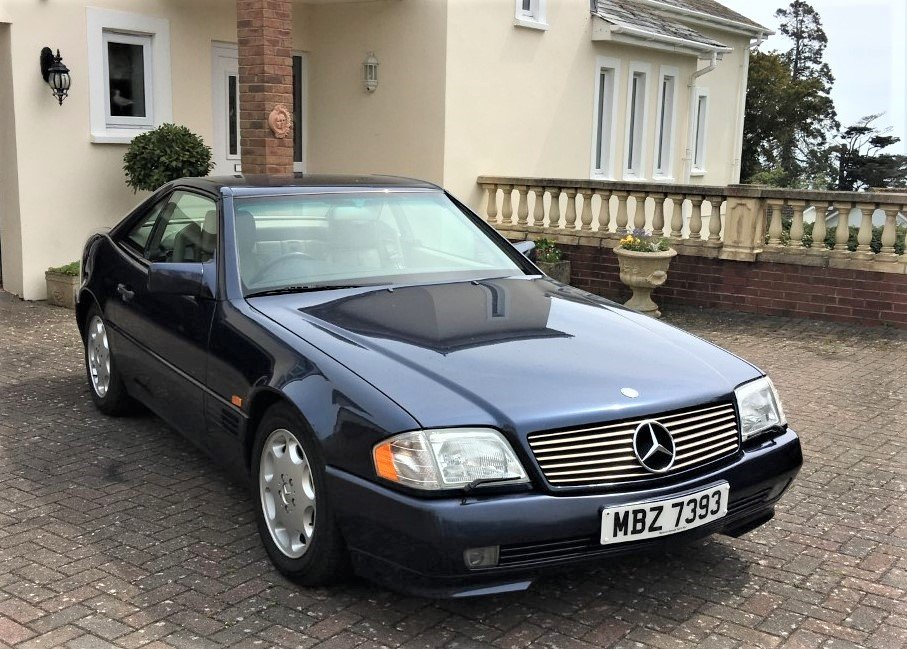 1995 Mercedes SL320 - 37000 miles only - Superb Condition For Sale (picture 1 of 6)