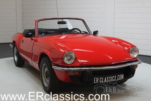 Triumph Spitfire 1500 Cabriolet 1979 Rebuilt engine For Sale