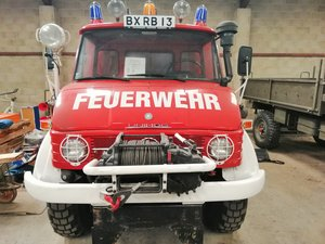 1981 Unimog 416 Fast Axles For Sale