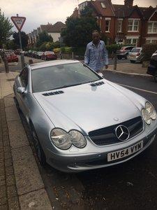2004 Mercedes 500 v8 s.l