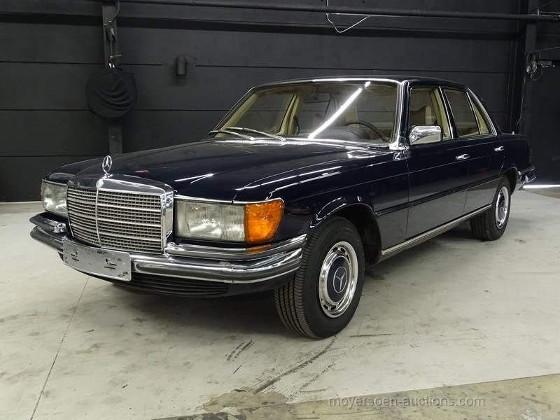 1978 MERCEDES-BENZ 350 SE For Sale by Auction (picture 1 of 6)