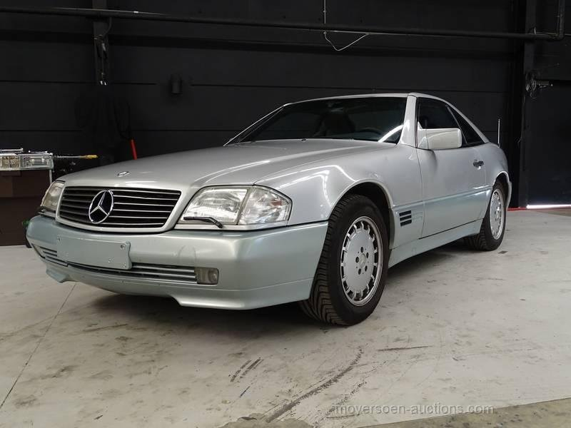 1990 MERCEDES-BENZ SL 300 24 V For Sale by Auction (picture 1 of 6)