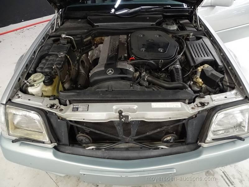 1990 MERCEDES-BENZ SL 300 24 V For Sale by Auction (picture 6 of 6)