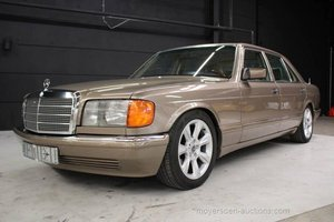 1987 MERCEDES-BENZ W126 420 SEL For Sale by Auction