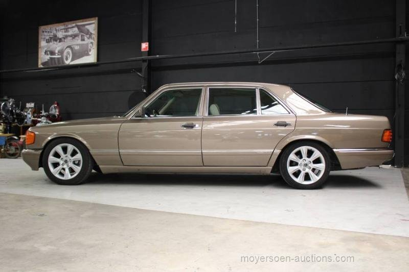 1987 MERCEDES-BENZ W126 420 SEL For Sale by Auction (picture 2 of 6)