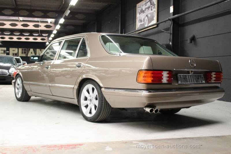 1987 MERCEDES-BENZ W126 420 SEL For Sale by Auction (picture 3 of 6)