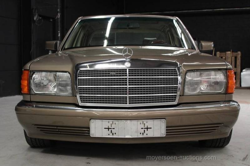 1987 MERCEDES-BENZ W126 420 SEL For Sale by Auction (picture 4 of 6)