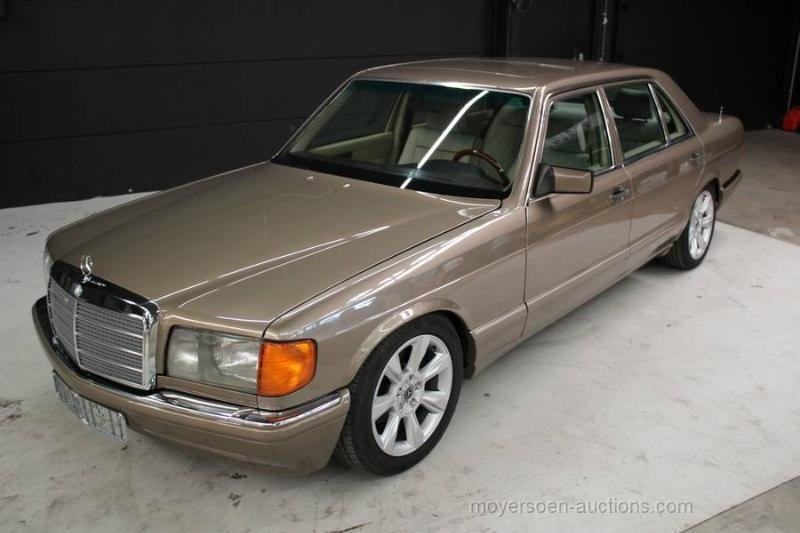 1987 MERCEDES-BENZ W126 420 SEL For Sale by Auction (picture 5 of 6)