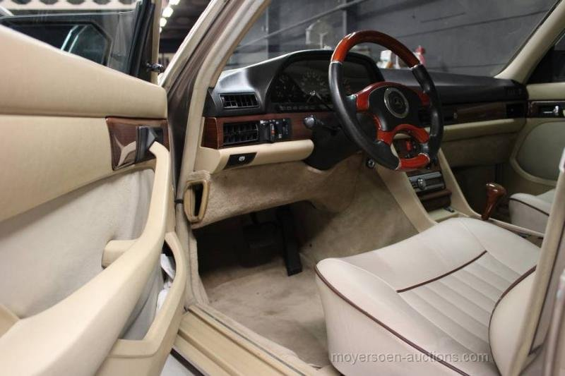 1987 MERCEDES-BENZ W126 420 SEL For Sale by Auction (picture 6 of 6)