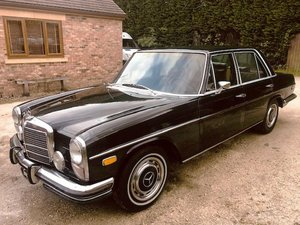 1973 Mercedes-Benz 280 Saloon For Sale by Auction