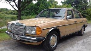 1979 MERCEDES 240D W123 SALOON ~ 'BULLET PROOF' ~EXEMPT 2020 For Sale