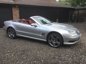 To be sold Wednesday 31st July 2019- 2003 Mercedes SL55 AMG For Sale by Auction
