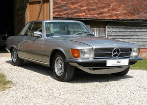 1979 Mercedes 450SLC C107. Restored example