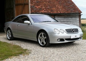 2003 Mercedes CL500, low mileage example with high spec SOLD