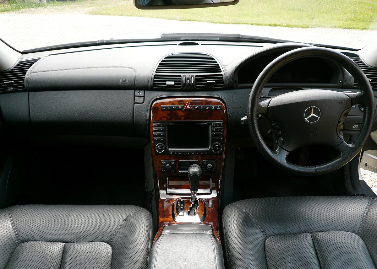 2003 Mercedes CL500, low mileage example with high spec SOLD (picture 2 of 6)