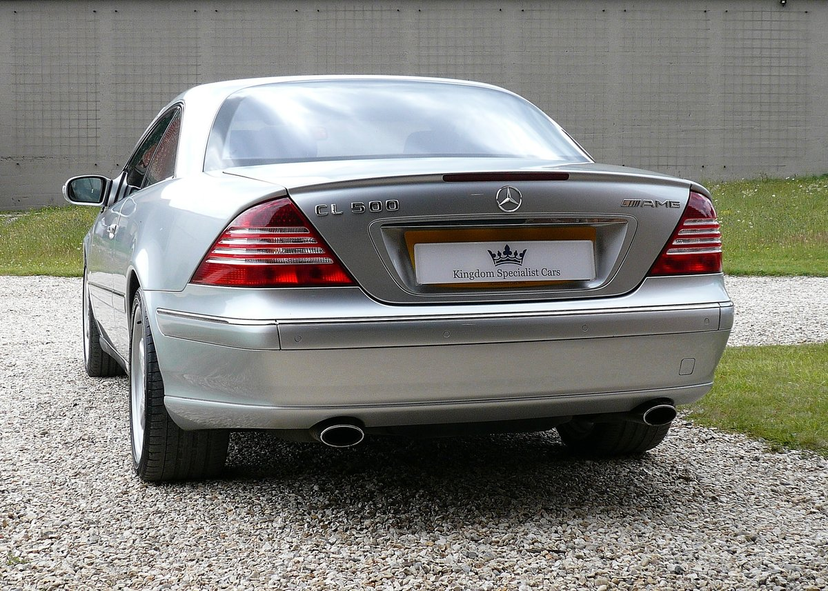 2003 Mercedes CL500, low mileage example with high spec SOLD (picture 5 of 6)